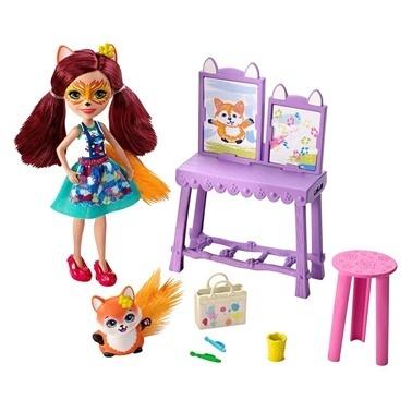 Enchantimals Enchantimals Bebekleri Piknikte Oyun Seti Renkli